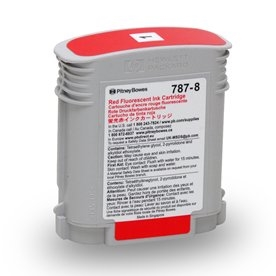 787-8 NEW Red Ink Cartridge