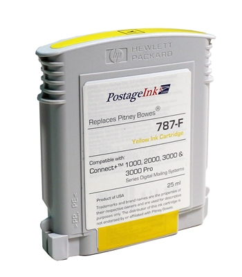 787-F Yellow Ink Cartridge