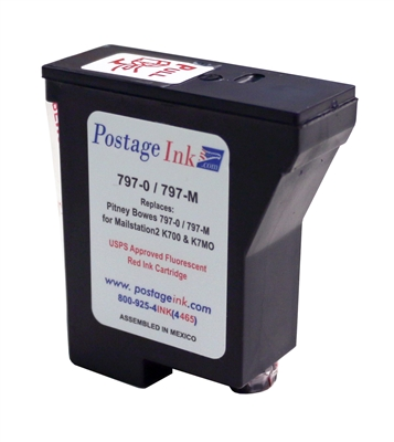 797-0 Red Ink Cartridge