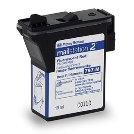 797-M NEW Red Ink Cartridge