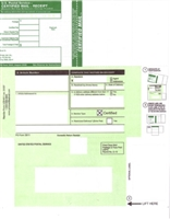 Form LCD-811 (USPS 3800) 100 Forms