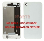Back Cover Housing Case Battery Door Rear Glass for iPhone 4 GSM AT&T White