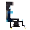 USB Charger Charging Port Dock Connector Mic Flex Cable for iPhone XR (Black)