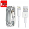 10Ft  USB Data Sync Charger Cable Cord for iphone 5/6/7/8/X