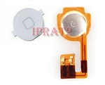 Replacement Home Button Flex Cable + White Key Cap For Apple iPhone 3GS