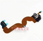 Charging Charger Dock Port Audio Jack Flex Cable For Apple iPod Touch 5 - Black