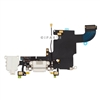 Charging Port Charger Dock Headphone Audio Flex Cable for iPhone 6S 4.7'' (White)