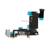 Headphone Jack Mic Charging Dock Port Flex Cable for iPhone 6S Plus 5.5'' (Gray)