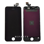 LCD Display Screen Touch Digitizer Glass Assembly for iPhone 5 (Black)