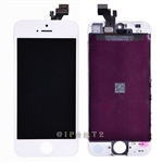 LCD Display Screen Touch Digitizer Glass Assembly for iPhone 5 (White)