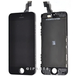 LCD Display Screen Touch Digitizer Glass Assembly for iPhone 5C (Black)