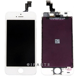 LCD Display Screen + Touch Digitizer Glass Assembly for iPhone 5S (White)