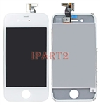LCD Screen + Touch Glass Digitizer Assembly for AT&T GSM iPhone 4 (White)