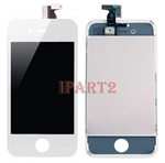 LCD Screen + Touch Glass Digitizer Assembly for CDMA Verizon iPhone 4 (White)