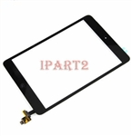 iPad mini 1 2 Touch Digitizer Screen + IC Connector Home Button Flex Assembly (Black)