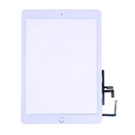 Touch Digitizer Screen + Home Button Flex+ Adhesive Assembly for iPad 2017 (White)