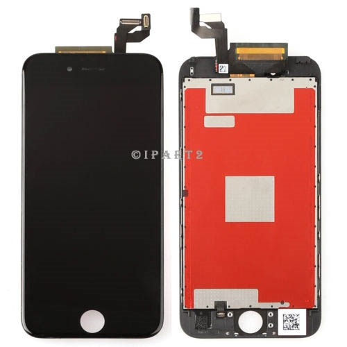 save off bc56e b6dc0 LCD Display Touch Screen Digitizer Frame Assembly for iPhone 6S 4.7''  (Black)
