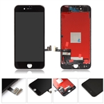 LCD Display Touch Screen Digitizer Frame Assembly for iPhone 8 4.7'' (Black)