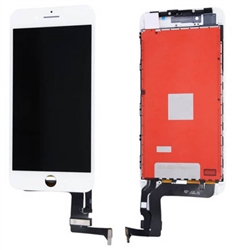 LCD Display Touch Screen Digitizer Frame Assembly for iPhone 8 Plus 5.5'' (White)