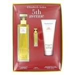 Gift Set - 4.2 oz Eau De Parfum Spray + .12 oz Mini + 3.3 oz Body Lotion