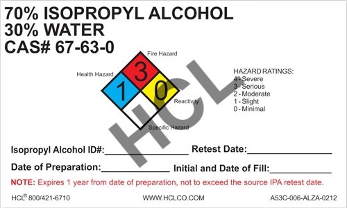 Mixed IPA & Water Label | HCL Labels, Inc