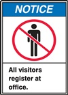 Notice Label AllVisitorsRegister