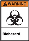 Warning Label Biohazard