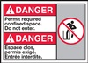 Danger PermitRequired Label