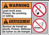 Warning Label LeadWorkArea