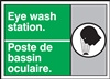 Emergency Sign Eye Wash Station