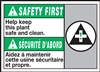 Safety Label Help Keep This Plant Safe