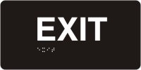 ADA Door Sign - Exit
