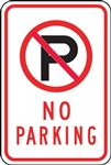 Parking Signs - No Parking