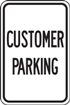 Parking Signs - Customer Parking