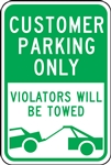 Parking Signs - Additional Parking With Graphic