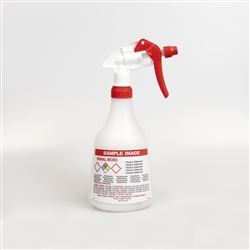 360 Degree - Pre-Labeled Birchmeier Spray Bottles - Labeled w/ Ecara Logo for Ethyl Alcohol