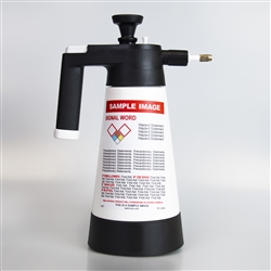 Pre-Labeled GHS Kwazar Pump Spray Bottles