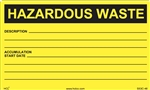 Hazardous Waste Write-In Label