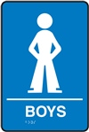 Boys - Braille Sign