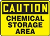 Caution Sign - Chemical Storage Area Sign