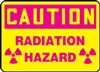 Caution Sign - Radiation Hazard