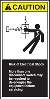 Safety Sign - Risk Of Electrical Shock