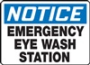 Notice Sign - Emergency Eye Wash