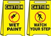 Floor Sign - Wet Paint Watch Your Step