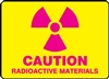 Caution Sign - Radioactive Materials Sign