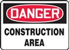 Danger Sign - Construction Area