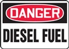 Danger Sign - Diesel Fuel , Inc