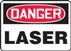 Danger Sign - Laser