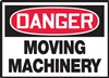 ANSI Danger Sign - Moving Machinery