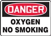 Danger Sign - Oxygen No Smoking